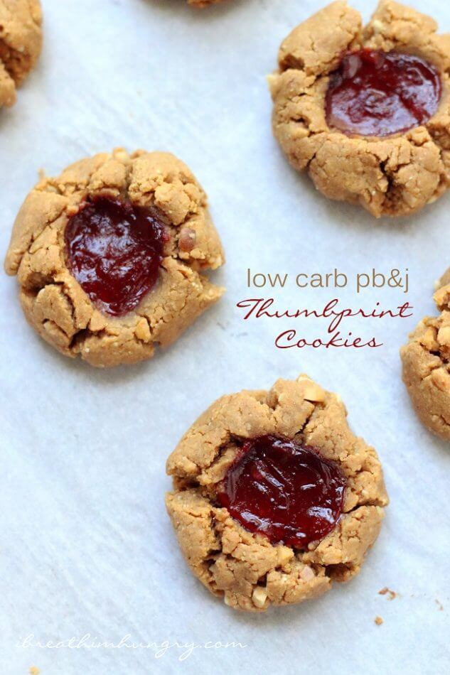 A low carb cookie recipe from Mellissa Sevigny of I Breathe Im Hungry