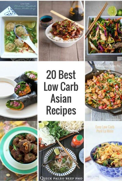 The Best Low Carb Asian Recipes from Around the Internet and Pinterest