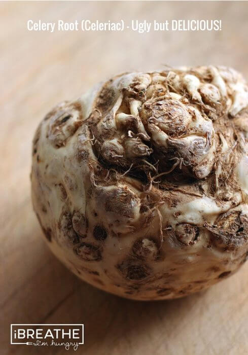 Celeriac photo by Mellissa Sevigny of I Breathe I'm Hungry