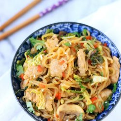 Easy Low Carb Lo Mein - a gluten free, keto, lchf, and Atkins friendly recipe from I Breathe Im Hungry