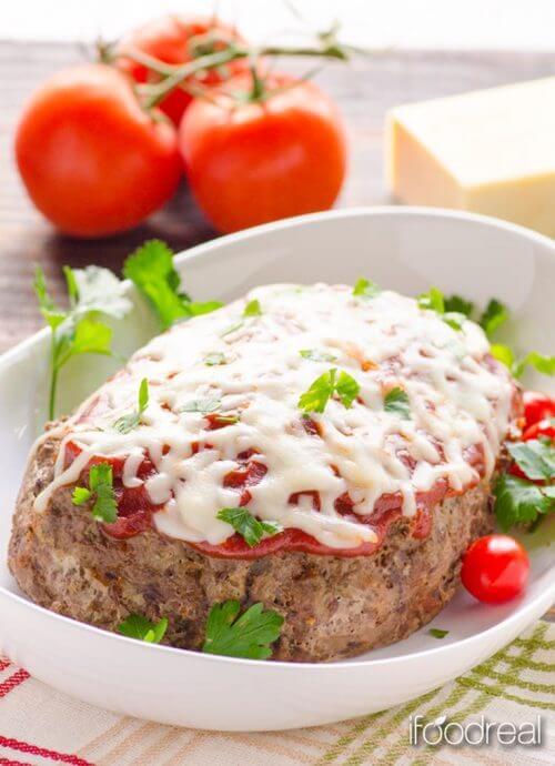 Gluten Free Slow Cooker Italian Meatloaf