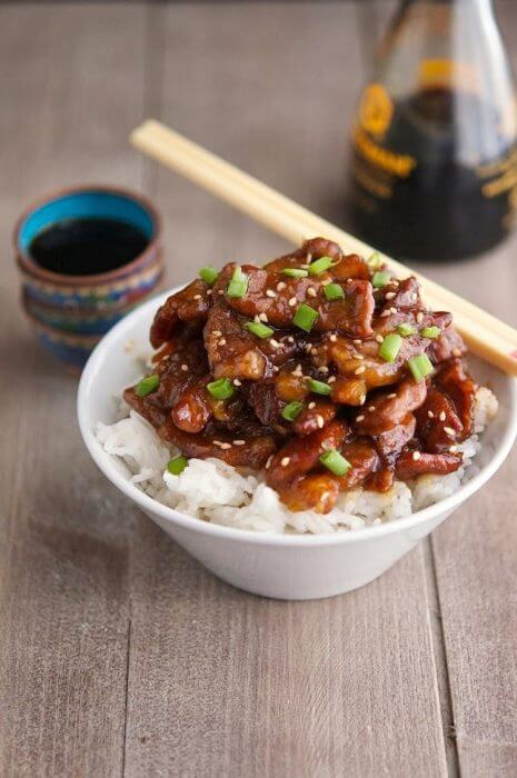 Low Carb Mongolian Beef