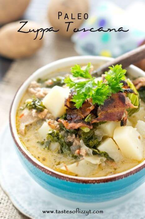 Gluten Free Slow Cooker Zuppa Toscana Soup
