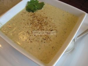 chicken almond soup