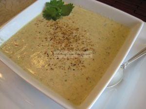 chicken almond soup