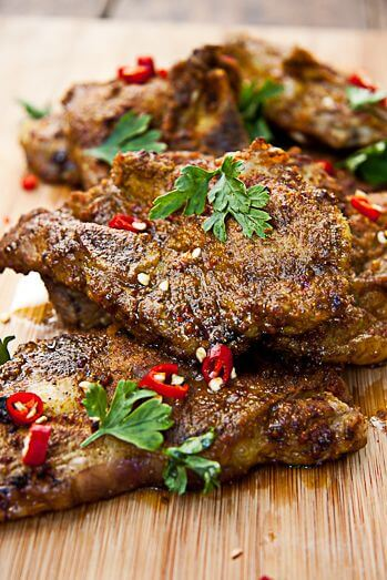 Indian Spiced Lambs