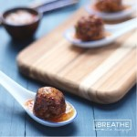 A low carb and keto friendly meatball recipe from Mellissa Sevigny of I Breathe Im Hungry