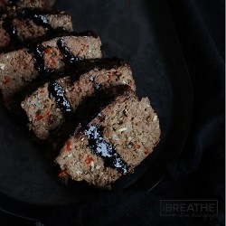 A low carb, keto, atkins, and gluten free meatloaf recipe from Mellissa Sevigny of I Breathe Im Hungry