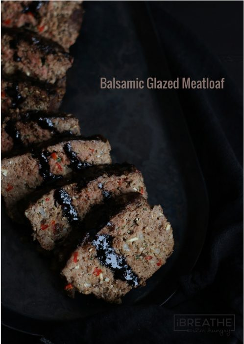 This balsamic glazed low carb meatloaf recipe is sure to win over your friends and family!
