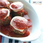 A low carb and gluten free meatball recipe from Mellissa Sevigny of I Breathe Im Hungry