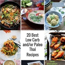 20 Best Low Carb and or Paleo Thai Recipes