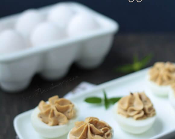 Mediterranean Deviled Eggs (Low Carb Recipe)