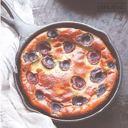 Cherry Clafoutis – Low Carb and Gluten Free