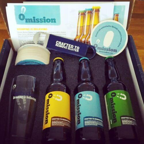 Omission Beer Samples