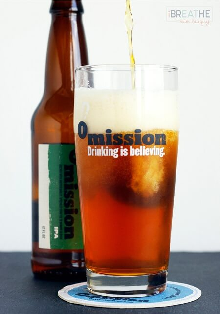 Omission gluten removed IPA is featured in this chicken wings recipe by Mellissa Sevigny of I Breathe Im Hungry