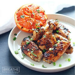 Low Carb Grapefruit & IPA Chicken Wings – Gluten Free