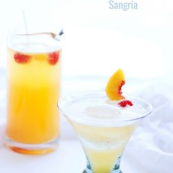 This refreshing low carb sangria recipe has all of the flavor of the real thing, without the sugar and carbs! Keto friendly at only 50 calories and 1 net carb per serving! Please drink responsibly!