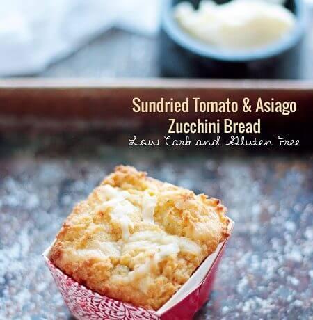 Sun-dried Tomato & Asiago Zucchini Bread – Low Carb