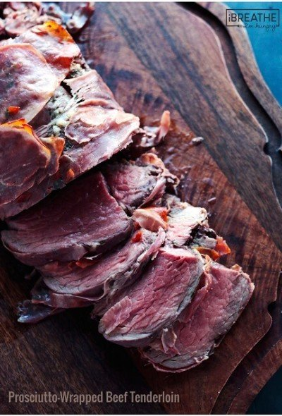 This impressive whole roasted beef tenderloin recipe is surprisingly easy to pull off! Low carb, grain free, Paleo and Whole 30 compliant!
