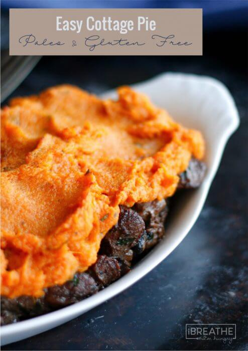 Delicious and comforting, this Paleo Cottage Pie will be a hit with the entire family!