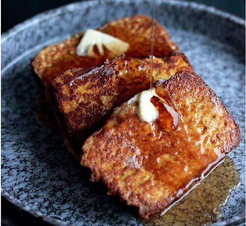 Pumpkin Bread French Toast – Low Carb and Gluten Free