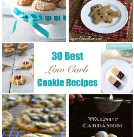 30 Best Low Carb Cookie & Bar Recipes – Gluten Free