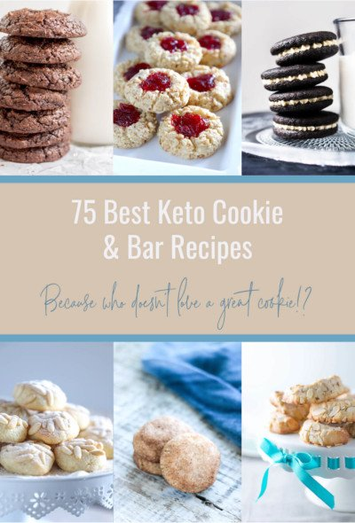 75 Best Keto Cookie Recipes