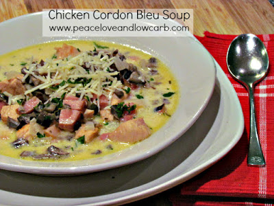 A low carb soup recipe using leftover ham