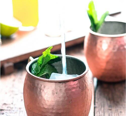 Low Carb Moscow Mule (Sugar Free)