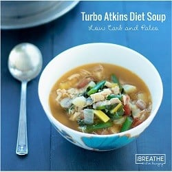 Turbo Atkins Diet Soup from Woman's World Magazine by Mellissa Sevigny of I Breathe Im Hungry