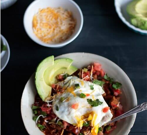 Low Carb Breakfast Chili – Gluten Free