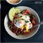 A low carb breakfast chili recipe by Mellissa Sevigny of I Breathe Im Hungry