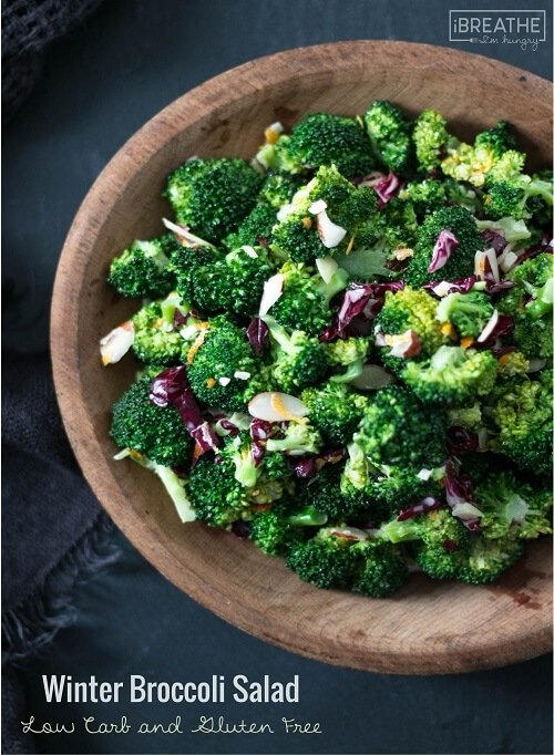 This healthy and delicious broccoli salad is loaded with citrus flavor and lots of vitamins and antioxidants!