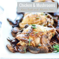 A low carb and whole 30 approved chicken recipe from Mellissa Sevigny of I Breathe Im Hungry