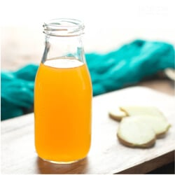 A versatile low carb ginger syrup for cocktails, soups, curries and baked goods by Mellissa Sevigny of I Breathe Im Hungry