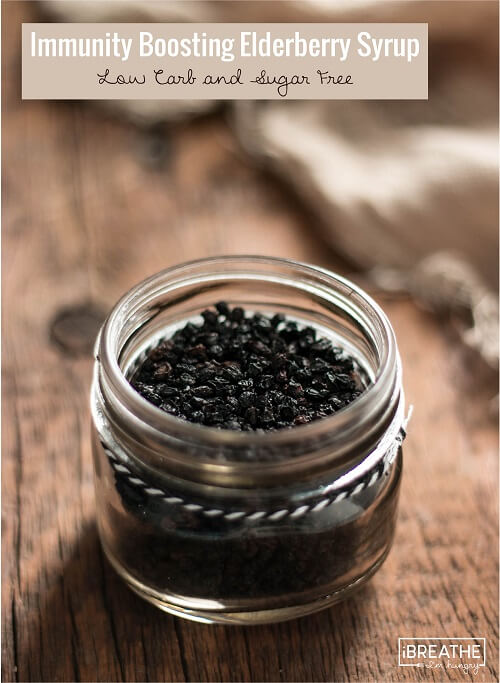 These freeze dried elderberries contain immunity boosting compounds that fight the cold and flu virus!