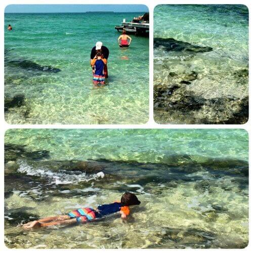 secret beach snorkeling