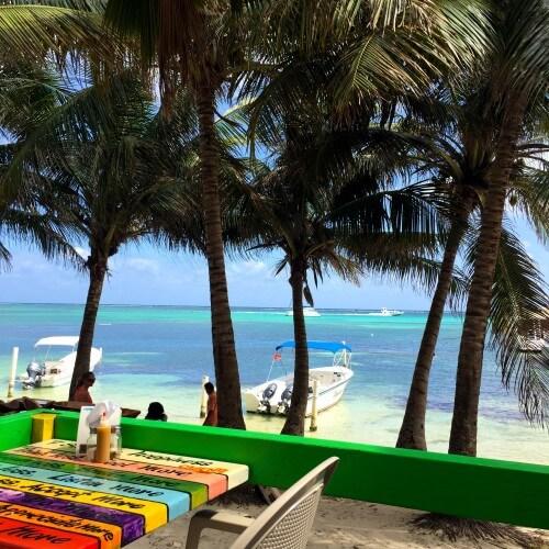 Caliente restaurant San Pedro Belize