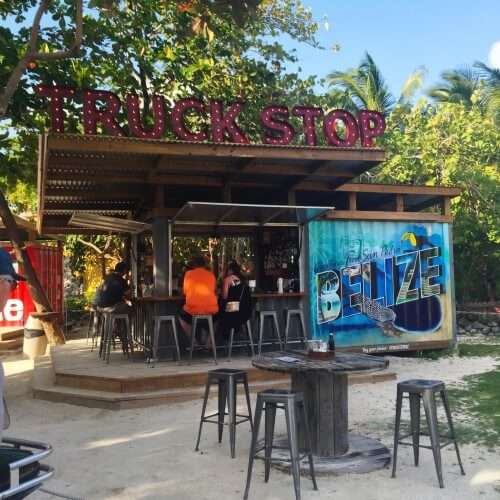 Truck Stop San Pedro Belize