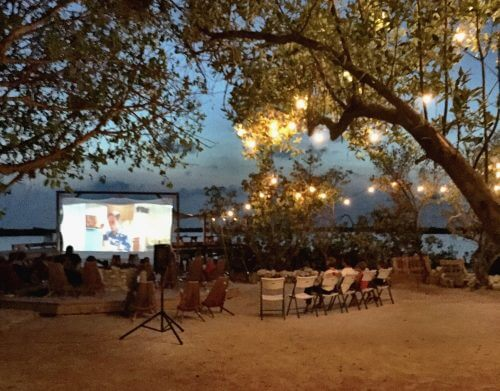 Movie Night at the Truck Stop by Mellissa Sevigny of I Breathe Im Hungry
