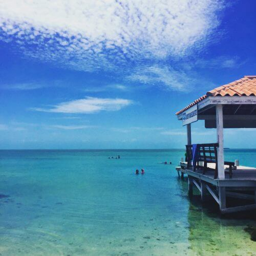 Another great day at Secret Beach on Ambergris Caye!