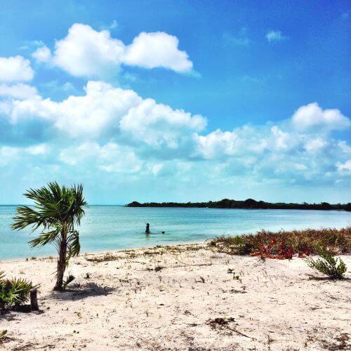 Beach life in Belize