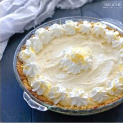 Lemon Cloud Pie – Low Carb & Gluten Free