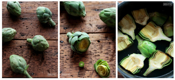 Preparing baby artichokes is easier than you think and so worth the effort!