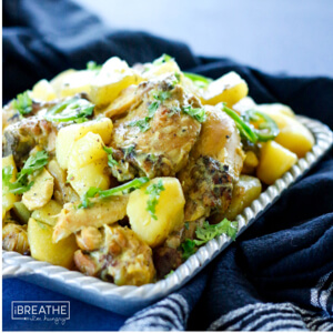 Whole 30 Curried Chicken with Potatoes