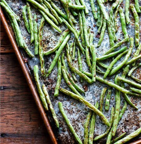 Moroccan Roasted Green Beans – Low Carb & Gluten Free