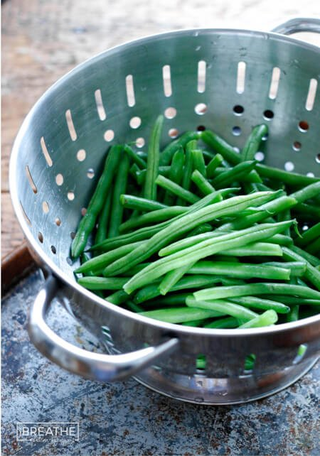 Fresh Green Beans by Mellissa Sevigny of I Breathe Im Hungry