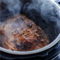 An Instant Pot Pork Roast Recipe from Mellissa Sevigny of I Breathe Im Hungry