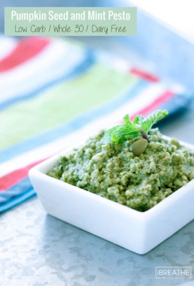 This Whole 30 friendly pesto is not only delicious, it is very effective at killing and eliminating intestinal parasites!!!