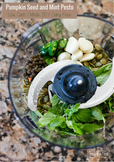 This delicious Whole 30 pesto recipe will have parasites running for the hills!
